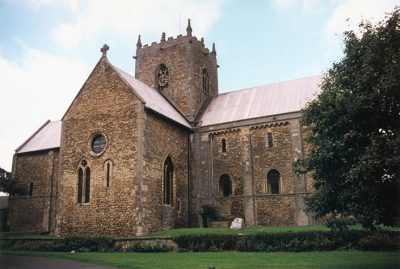 St. Mary's Stow-in-Lindsay, a 10th c church endowed by Godgyfu and Leofric in the mid 11th c.
