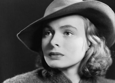 "Ingrid Bergman in ""A Woman's Face"""