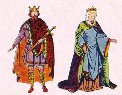 8th-9th century King and Queen