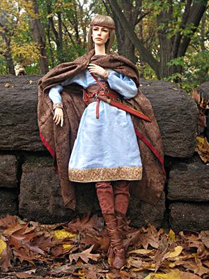7th Century Angle nobleman as costumed by E.V. Svetova