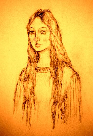 Ceridwen illustration by artist Marta Roselló