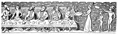 Medieval Feast Scene