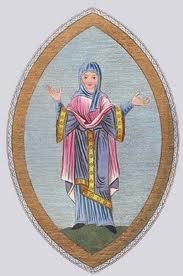 Anglo Saxon Nun