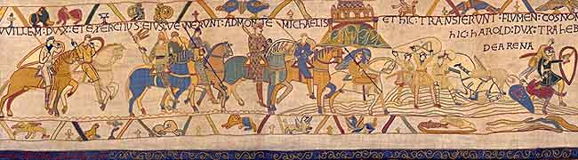 Reading Bayeux Tapestry