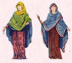 Two Saxon Ladies