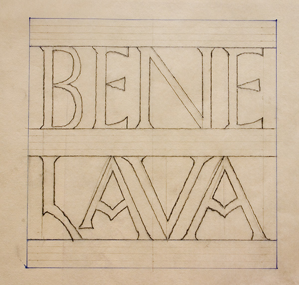 Bene Lava Mosaic Cartoon