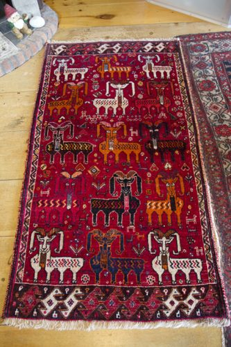 My Qasq'ai (or Qashqai) Persian carpet