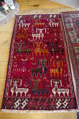 My Qasq'ai (or Qashqai) Persian carpet
