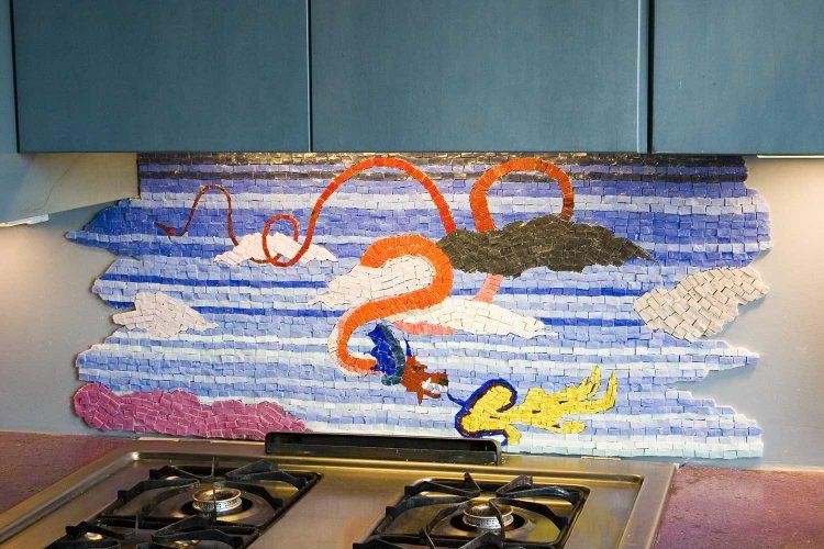 Draco Mosaic In Situ