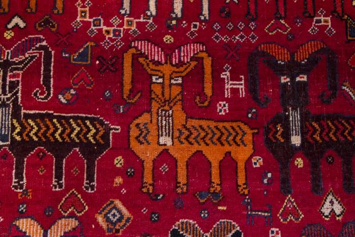 My Qasq'ai Persian carpet - detail