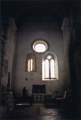 St Mary's Stow - Interior 3 Windows