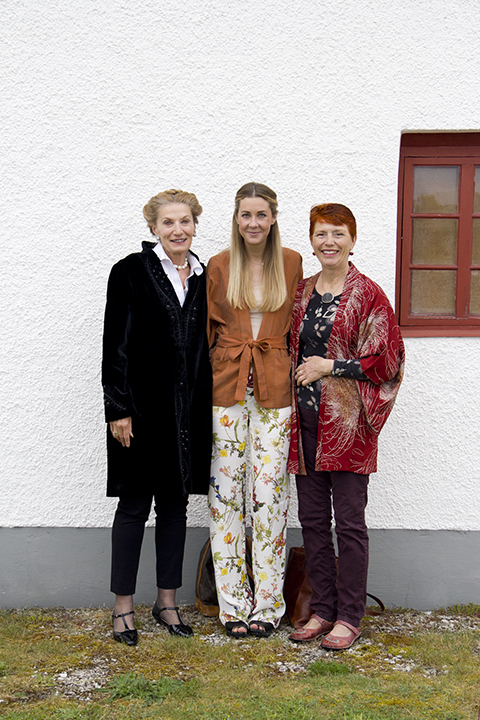 Bergman theater with dear friends