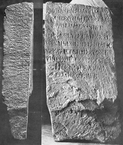 Kensington runestone from 1910