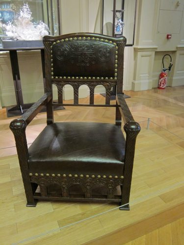 Tiffany Viking Revival Chair