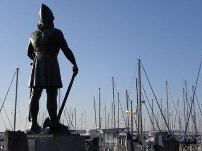 Seattle Leif Erikson Statue