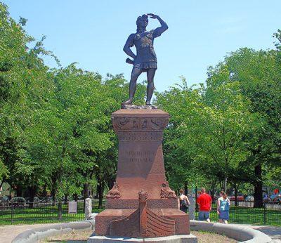 Boston Leif Erickson Statue
