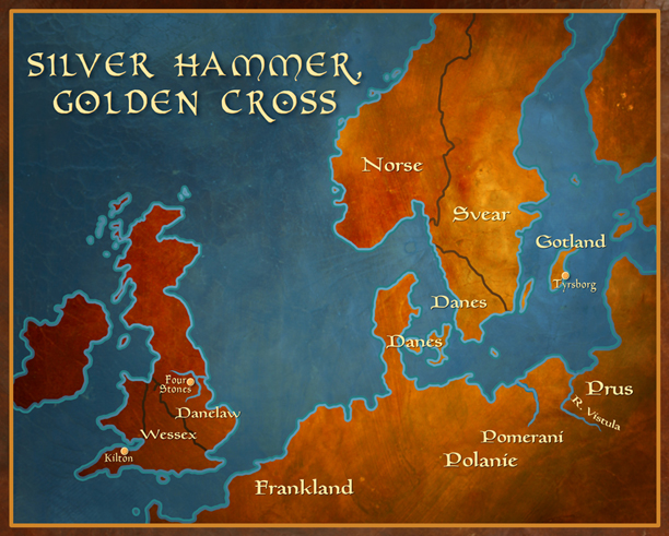 Silver Hammer, Golden Cross Larger Map