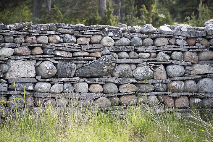 Fårö Stone Wall