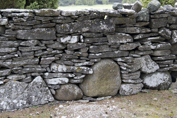 Stone walls that endure