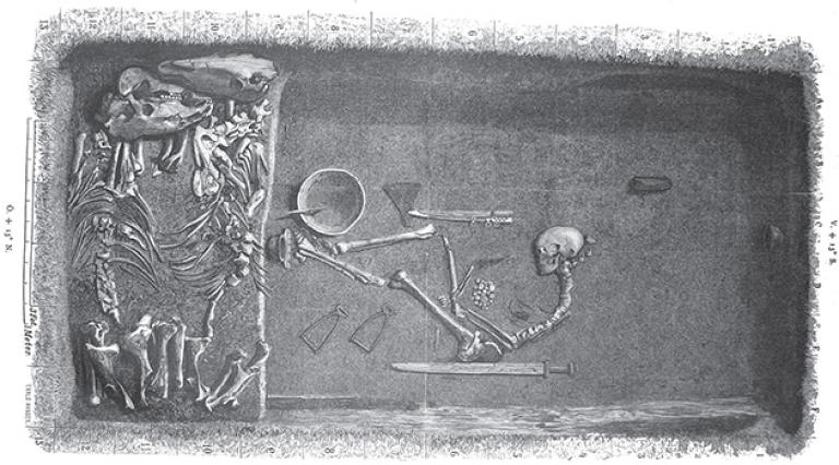 Woman Warrior Burial Birka