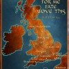 For Me Fate Wove This: Map of England 893 thumbnail