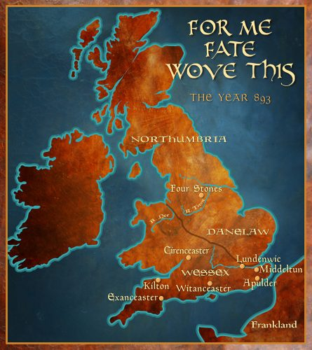 For Me Fate Wove This: Map of England 893