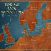 For Me Fate Wove This: Map of Scandinavia and England 893 thumbnail